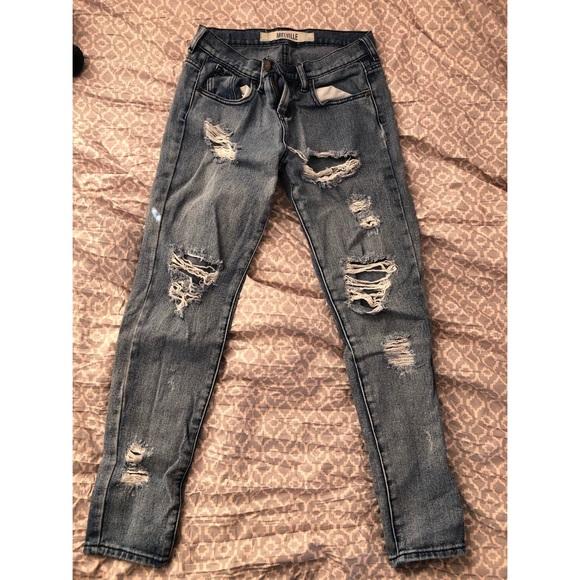 bf7464c7d62ae PacSun Pants | Pac Sun Distressed Boyfriend Jeans | Poshmark